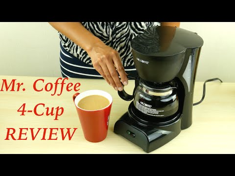 Mr. Coffee 4-Cup Coffee Maker Review