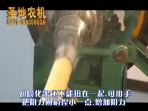 Corn snack food extruder machine, snack puffing extruding machine