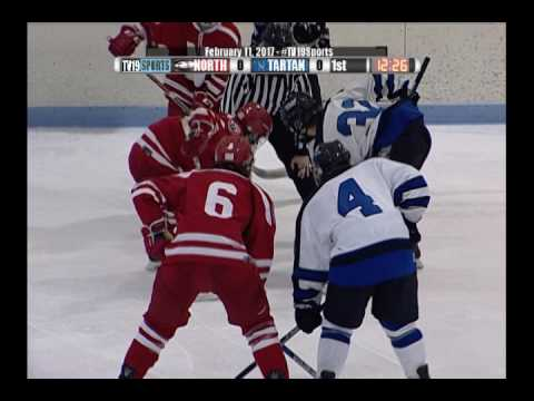 Boys Hockey - Tartan vs North - 2/11/17