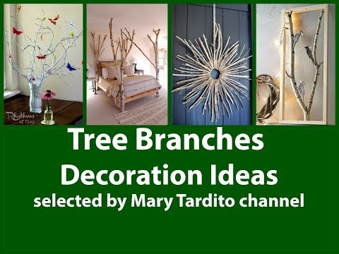 Tree Branches Decoration Ideas