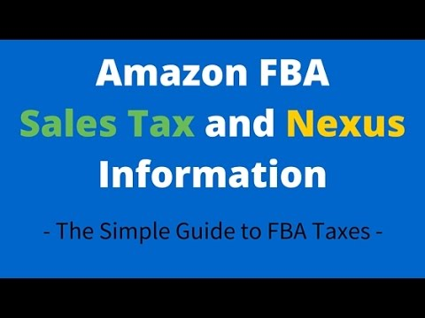 The Truth about Amazon FBA Sales Tax