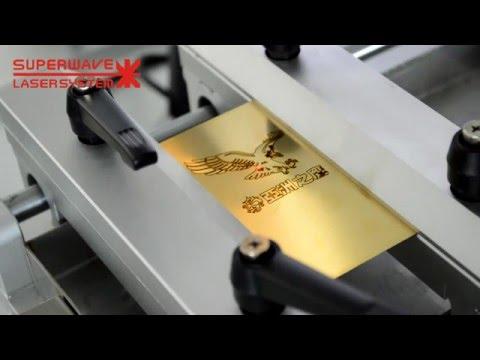 Gold laser engraving & cutting machine