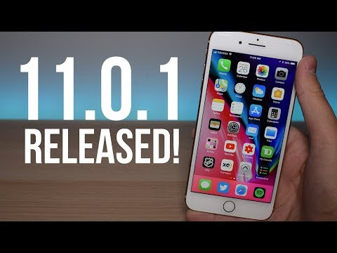 iOS 11.0.1 RELEASED To All Devices!