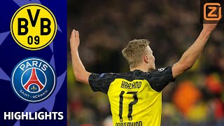 SENSATIE HAALAND BLIJFT GAAN 🔥 | Borussia Dortmund vs PSG | Champions League 2019/20 | Samenvatting