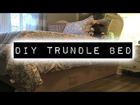 How To Make A Trundle Bed   DIY & Home Improvement