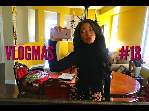 COME TO THE HAIRDRESSERS: HOW I GET MY SEW IN WEAVE - FROM DRAB TO FAB | VLOGMAS DAY 18