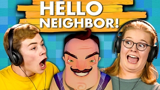 HELLO NEIGHBOR (Teens React: Gaming)