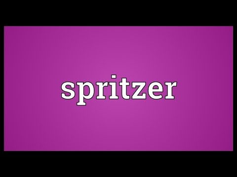 Spritzer Meaning