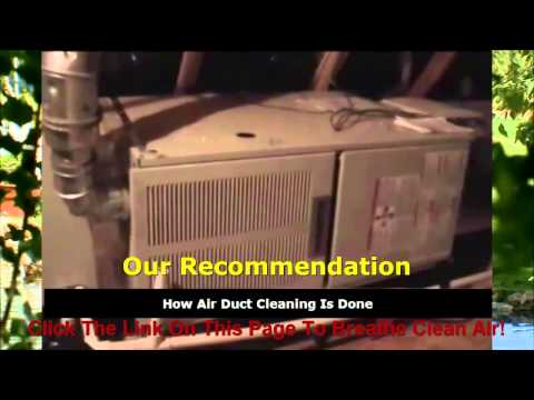 Charlotte Air Duct Cleaning Reviews - Find Out Why Duct Cleaning Is Important To Your Health