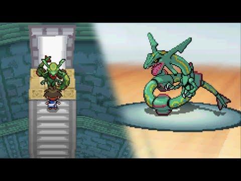 Pokémon Black 2 / White 2: Legendary Rayquaza Encounter (Hack)