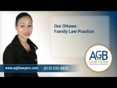 Ottawa Family Lawyer - AGB Lawyers