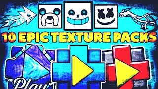 10 Epic Texture Packs Para Geometry Dash 2.1 | Android & Steam |