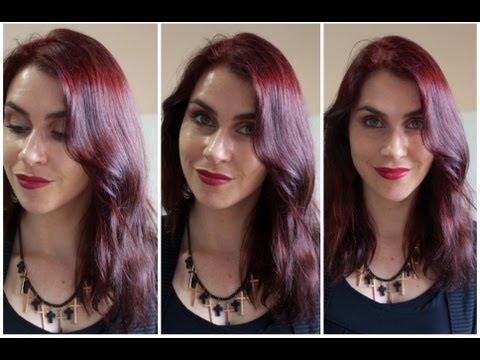 My New Hair Colour! Intense Red by Garnier Olia.