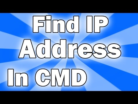 how to Find IP Adress (