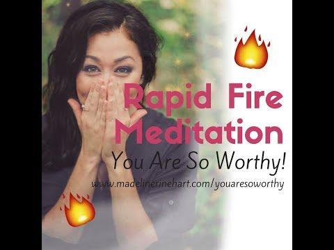 Guided Meditation - Ep. 32🔥🔥Rapid Fire  👑👑 Remove Self-Worth Blocks