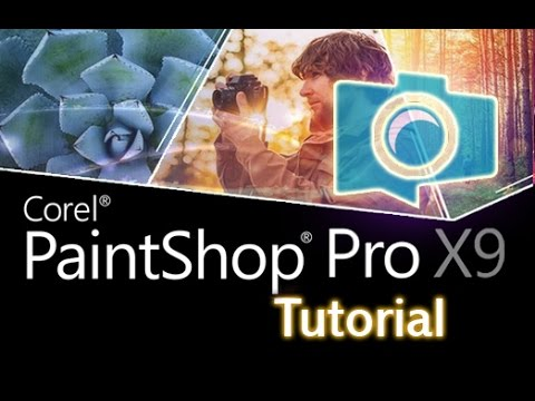 PaintShop Pro X9 - Tutorial for Beginners [+General Overview]*