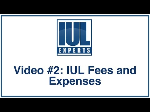 Indexed Universal Life Insurance -  Fees and Expenses