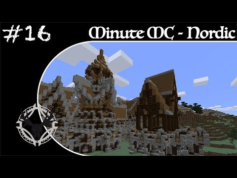 Minute Minecraft - Time Lapse - Nordic Village - Ep.16
