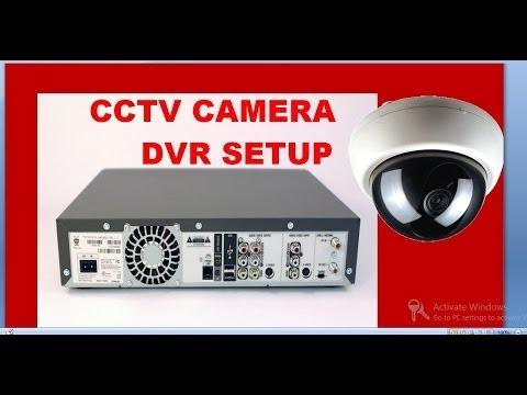 cctv camera installation step by step procedure with dvr setup