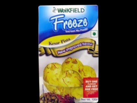 Cook WeiKFiELD Ice Cream Kesar Pista