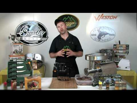 Making Summer Sausage with Weston Sausage Making Equipment