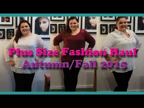 Plus sized fashion haul Autumn/Fall 2015