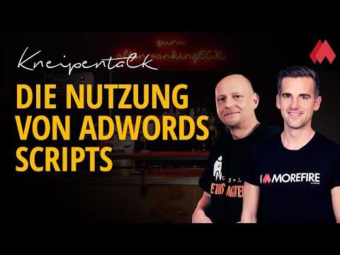 Die Nutzung von AdWords Scripts | morefire Kneipentalk