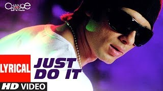 LYRICAL: Just Do It Song | Chance Pe Dance | Shahid Kapoor, Genelia D'Souza | Amitabh Bhattacharya