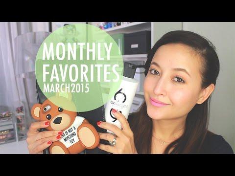 Monthly Favorites (Mar 2015) | Friedia