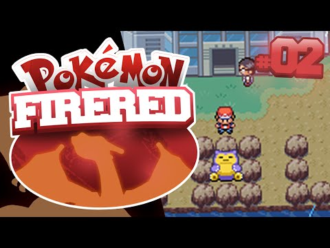 Pokemon Fire Red ep2: One down seven to go!