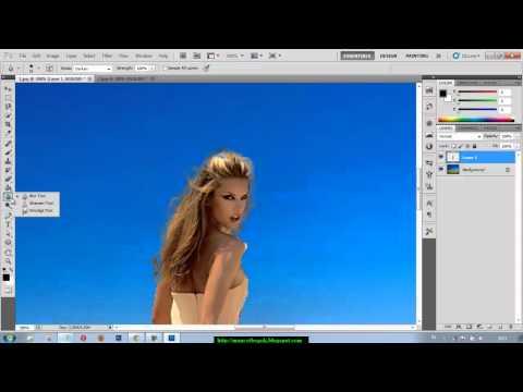 TUTORIAL PHOTOSHOP CS5 - MERUBAH BACKGROUND FOTO ( DASAR )