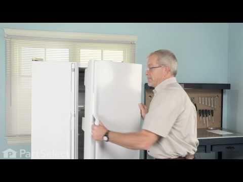 Refrigerator Repair - Replacing the Door Closing Cam (GE Part# WR2X4901)