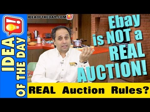 eBay Isn't a REAL Auction? Idea of the day #254