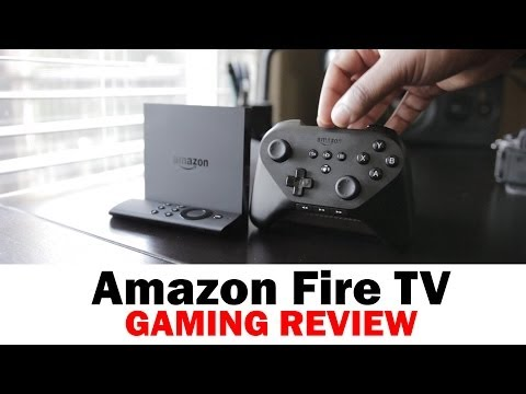 Amazon Fire TV Gaming Review