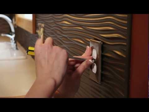 DIY Backsplash Installation - Fasade Panels
