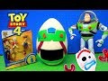 Toy Story 4 Buzz Lightyear Giant Play Doh Surprise Egg For Kids