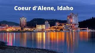Download 5 Reasons why Coeur d' Alene, Idaho is the best place to live. Video