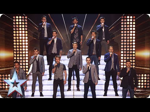 The Kingdom Tenors make some tremors  | Semi-Final 3 | Britain's Got Talent 2015