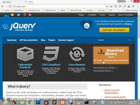 How to learn jquery | jquery Tutorial full web developer