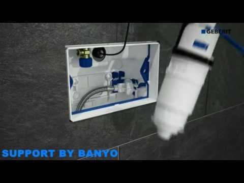 Geberit Sigma80 touchless Flush Plate Installation