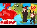 My Magic Knight My Magic Pet Morphle Episodes For Kids Knight Dragon Pirate Witch