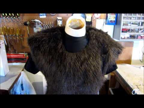 Werewolf Costume Project -  Upper Body