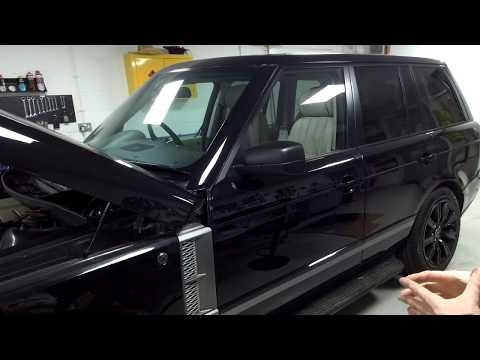 Sunroof water leaks & fault finding on Range Rover L322