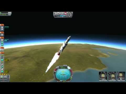 KSP Tutorial 1 - How to make a circular orbit