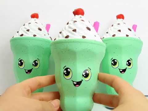 Chip - Mint N Chip Milkshake Squishy!