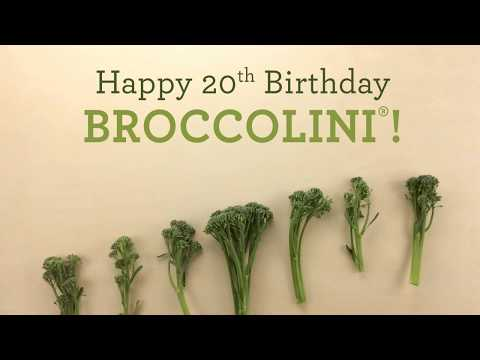 Happy 20th Birthday Broccolini! From The Produce Moms