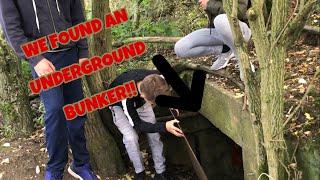 WE FOUND AN UNDERGROUND BUNKER!!