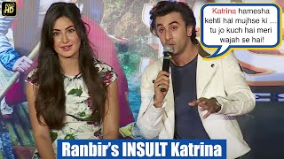 Jealous Ranbirs Shocking Insult To Katrina At Jagga Jasoos Galti Se Mistake Song Launch