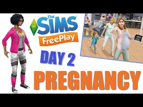 Sims Freeplay | Pregnancy Day Two | Pregnancy Update