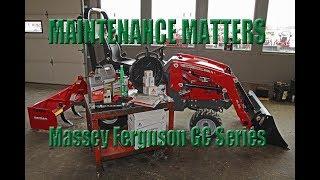 Massey Ferguson GC Series: DL95 Loader Skid Steer Quick
